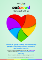 6966 BA Outline – Outcrowd poster