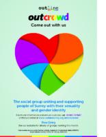 6966 BA Outline – Outcrowd poster
