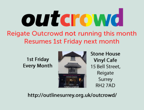 Outcrowd Reigate – August Event not running