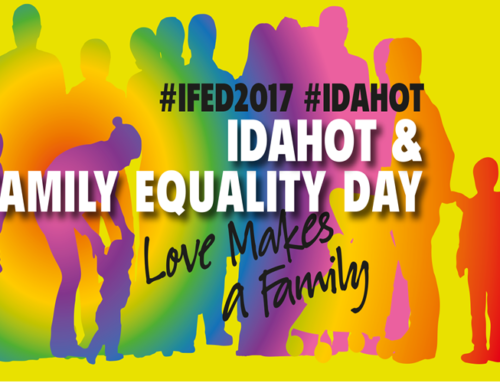 Outline Recognise IDAHOBT 2017