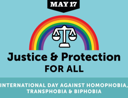 Remember 17th May is The International Day Against Homophobia, Biphobia and Transphobia