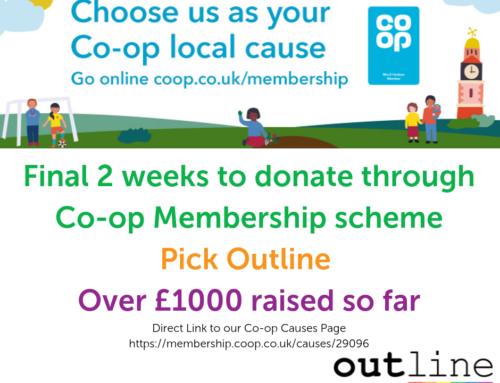 Co-Op Membership Scheme Raises Money for Outline