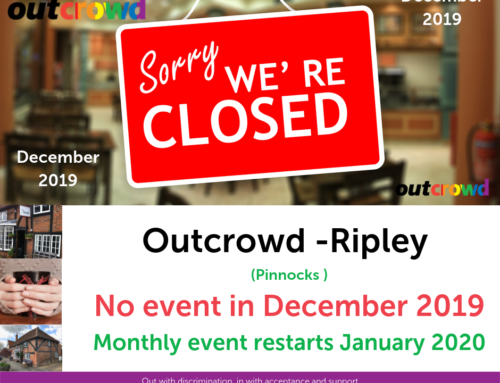 Pinnocks Outcrowd – No Event in December 2019