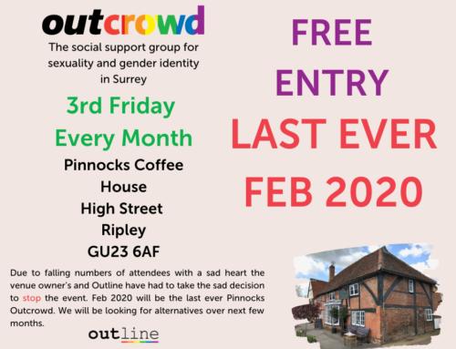 Last Outcrowd Pinnocks Ripley – Feb 2020