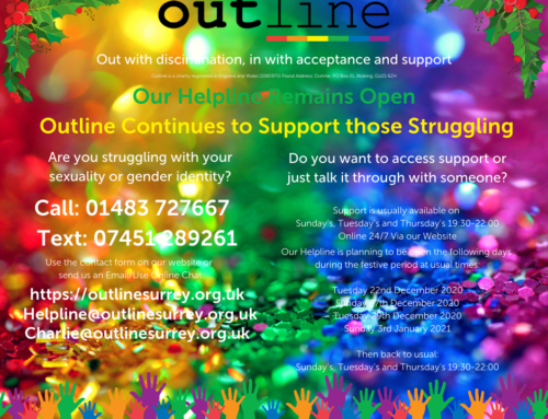 Outline Support over the Festive Period